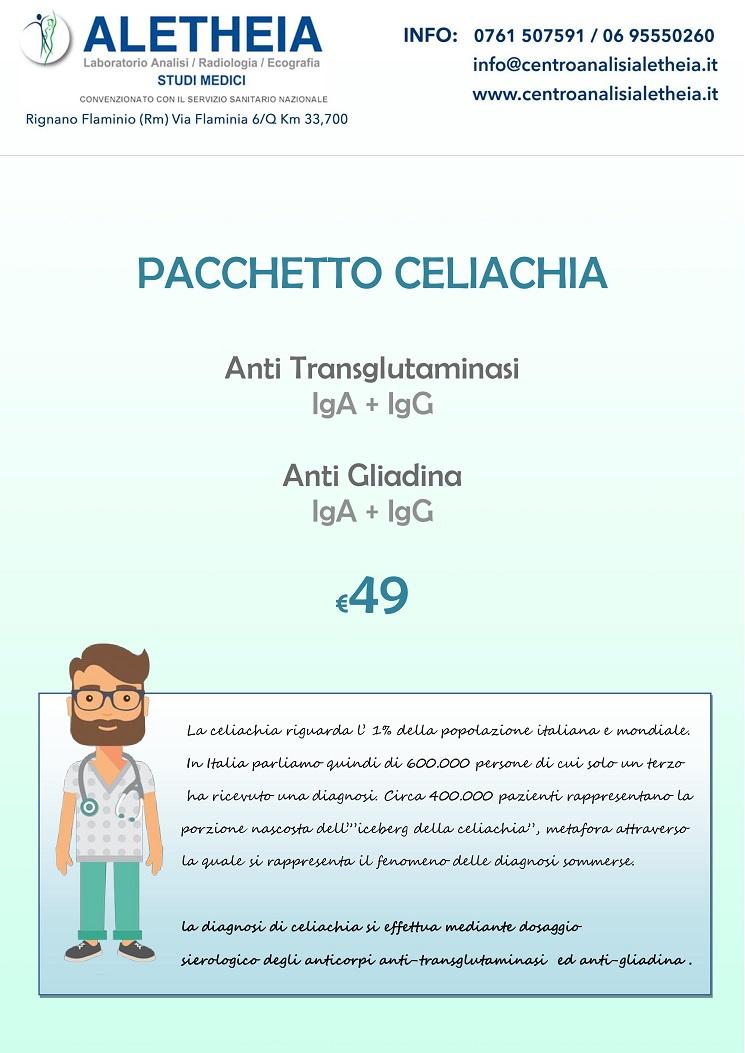 PACCHETTO CELIACHIA