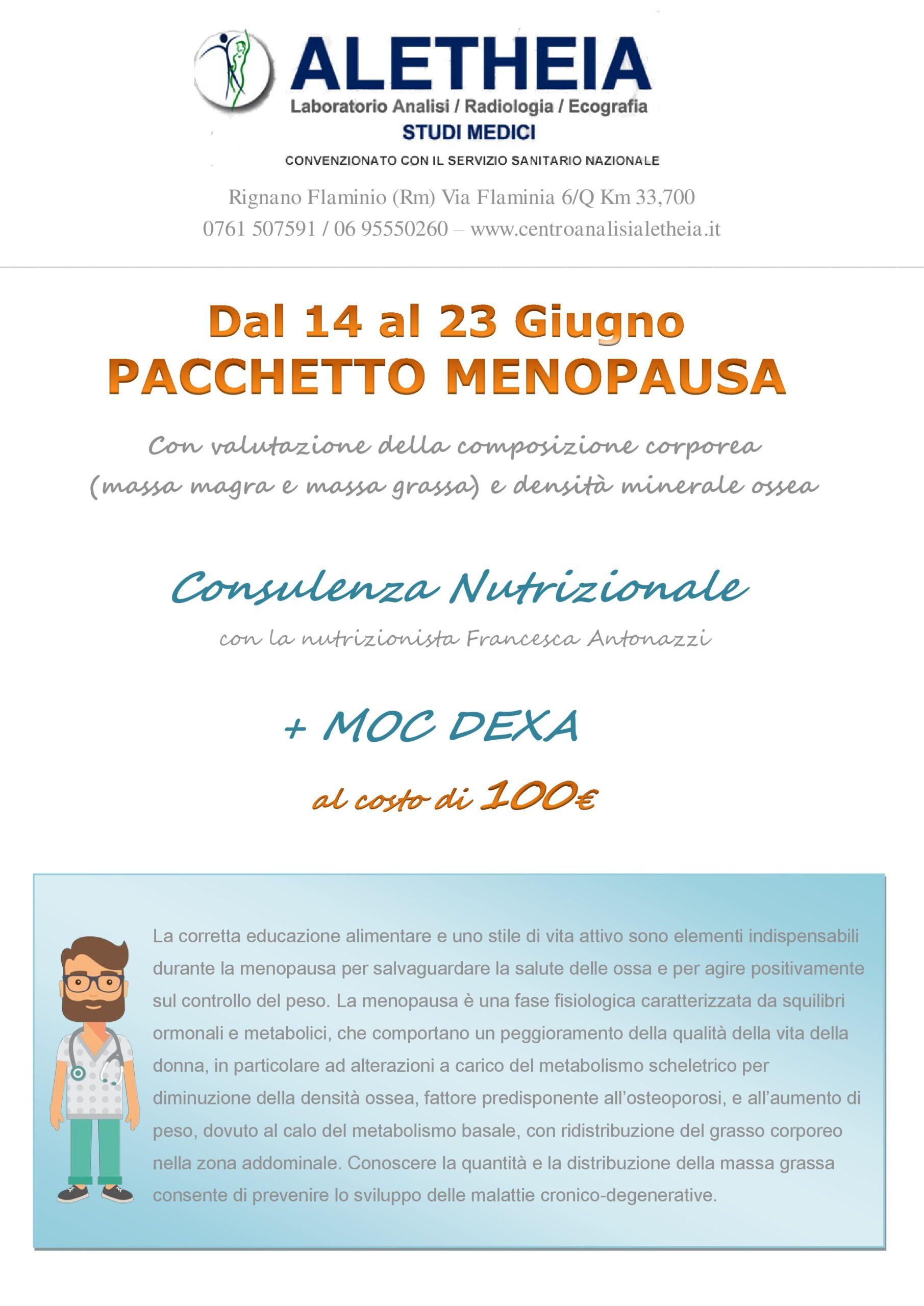 PACCHETTO MENOPAUSA