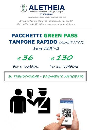 PACCHETTI GREEN PASS